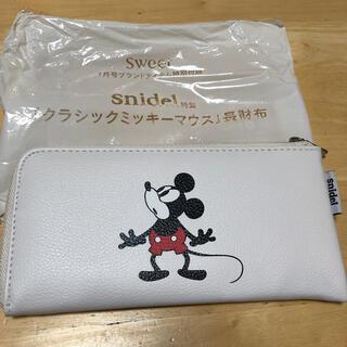 スナイデル(snidel)のsnidel スナイデル特製 クラシックミッキーマウス 長財布(財布)