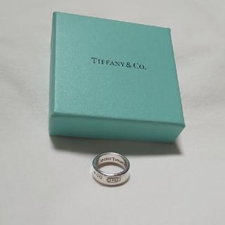 ティファニー(Tiffany & Co.)のティファニー TIFFANY & Co. 1837 wide  リング #12(リング(指輪))