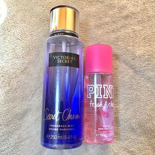 ヴィクトリアズシークレット(Victoria's Secret)のヴィクトリアシークレット ボディーミスト シークレットチャーム 2本セット(香水(女性用))