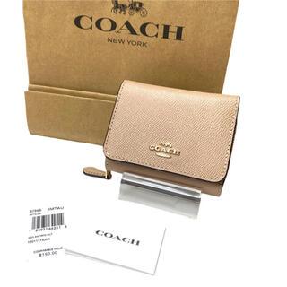 COACH - コーチ 財布 三つ折り タウプ 37968 トライフォールド ウォレット
