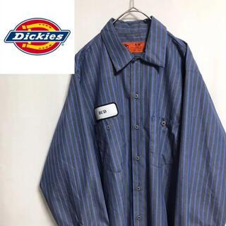ディッキーズ(Dickies)の80's   ディッキーズ ワークシャツ ストライプ(シャツ)