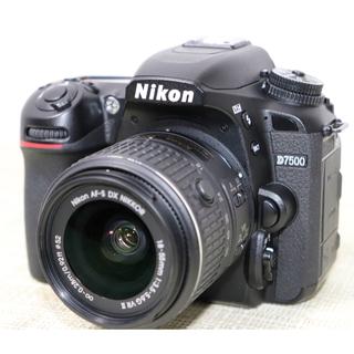 Nikon - NiKON D7500レンズキットWi-Fi&Bluetooth搭載