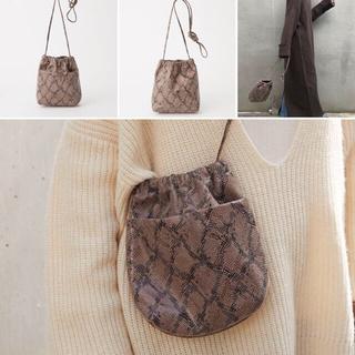 チャオパニックティピー(CIAOPANIC TYPY)のCAOPANIC  TYPY  ポケット付巾着BAG(ショルダーバッグ)