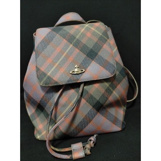 Vivienne Westwood(ヴィヴィアンウエストウッド)のヴィヴィアンウエストウッド リュック レディースのバッグ(リュック/バックパック)の商品写真
