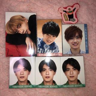 ジャニーズ(Johnny's)の高橋恭平 デタカ ステッカー 厚紙(男性アイドル)
