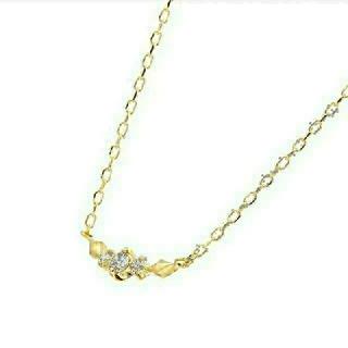 JEWELRY TSUTSUMI - ジュエリーツツミ イエローゴールド ダイヤネックレス ダイヤモンド