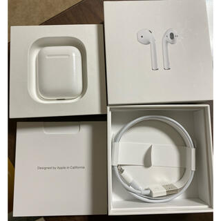 Apple - AirPods with Charging Case 第2世代 MV7N2J/A