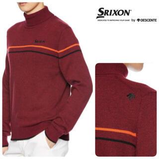 スリクソン(Srixon)のL新品/定価15400円/スリクソン by デサント セーター/ゴルフセーター (ウエア)