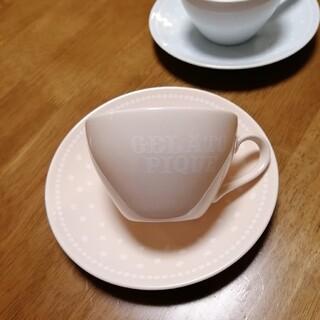 ジェラートピケ(gelato pique)のジェラートピケ カップ&ソーサー ペア(グラス/カップ)
