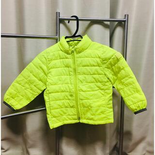 ベビーギャップ(babyGAP)のbabyGAP 子供ジャケット ジャンパー 90cm 黄色 イエロー(ジャケット/上着)