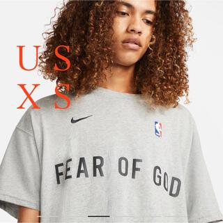 FEAR OF GOD -  FEAR OF GODフィアオブゴット NIKEナイキ ウォームアップTシャツ
