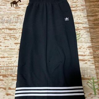 adidas - adidas ロングタイトスカート