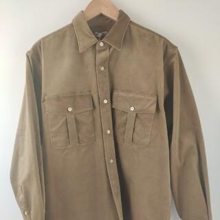コモリ(COMOLI)のRAKINESOrganic ST corduroy-MP shirt (シャツ/ブラウス(長袖/七分))