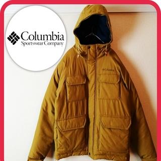 Columbia - コロンビア スピカジャケット ダウンジャケット オムニシールド 厚手 キャメル