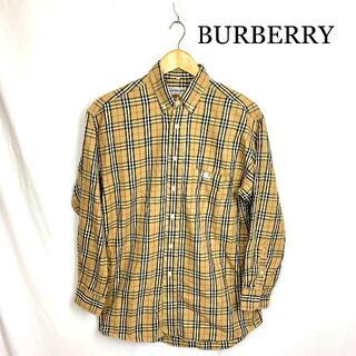 バーバリー(BURBERRY)のVINTAGE Burberry バーバリー  定番チェック シャツ(シャツ)