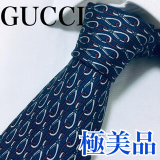 グッチ(Gucci)の極美品 グッチ ネクタイ 高級シルク チェーン早い者勝ち(ネクタイ)