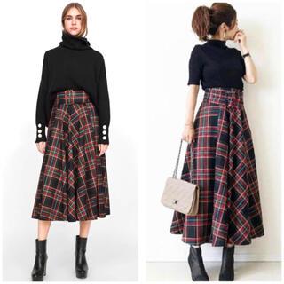 ZARA - ZARA ◆ 大人気 完売品 タータンチェックロングスカート