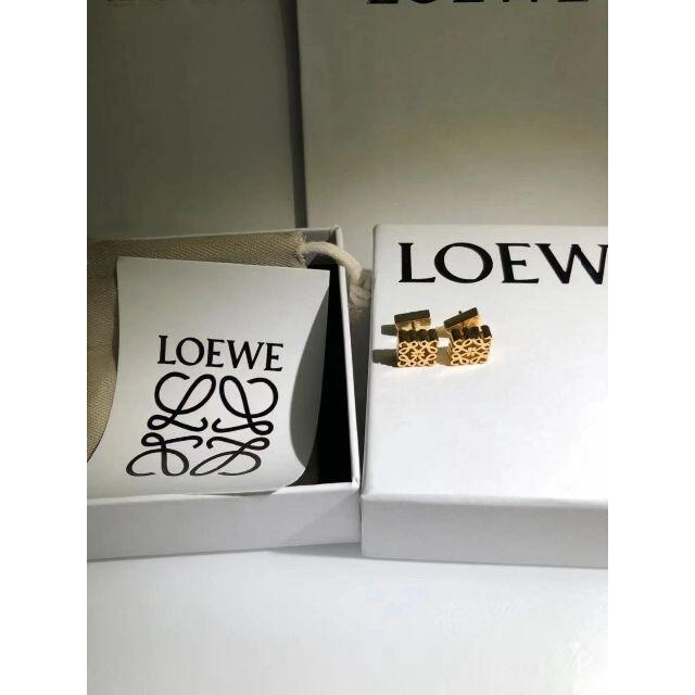 LOEWE(ロエベ)の♥LOEWE♥ ピアス♥ゴールド 美品 レディースのアクセサリー(ピアス)の商品写真