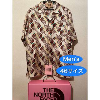 Gucci - 新品 グッチ x ノースフェイス シャツ 46 コラボ ロゴ Tシャツ ダウン