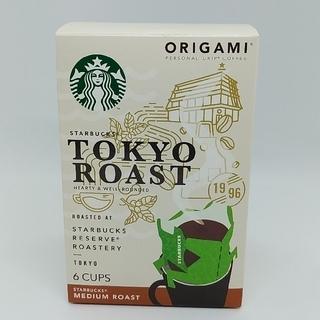 スターバックスコーヒー(Starbucks Coffee)の新品未開封 スターバックス オリガミ 東京ロースト6杯♪(コーヒー)