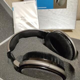 ゼンハイザー(SENNHEISER)のゼンハイザー HD650 美品(ヘッドフォン/イヤフォン)