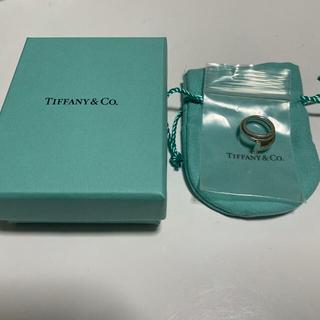 ティファニー(Tiffany & Co.)のTiffany Tスクエア ラップリング(リング(指輪))