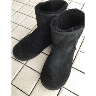 UGG - UGG ブーツ 黒 27cm (オーストラリア ブランド)