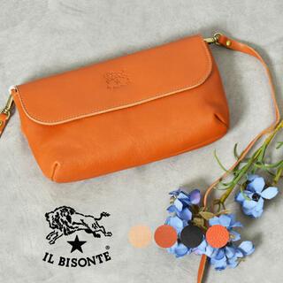 IL BISONTE - 新品未使用 イルビゾンテ ILBISONTE レザーショルダーバッグ