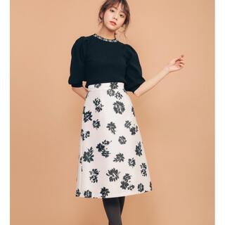 31 Sons de mode - お値下げ♡新品 トランテアンソンドゥモード ミモレ丈スカート M ピンク花柄