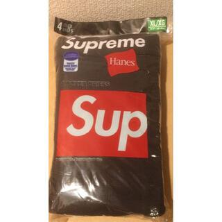 シュプリーム(Supreme)の1er_prelude様_Supreme Boxer Briefs黒XL 3枚(その他)