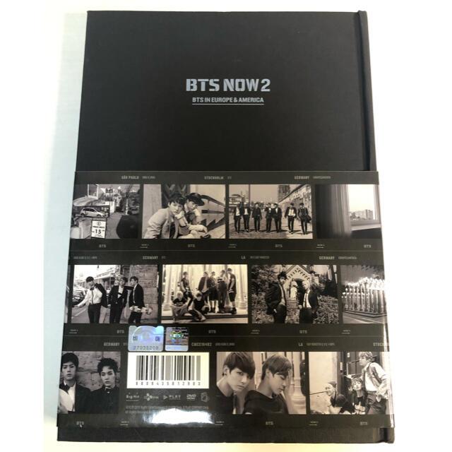 防弾少年団(BTS)(ボウダンショウネンダン)の【韓国版】bts now2 DVD 本 フォトブック 防弾少年団 バンタン エンタメ/ホビーのCD(K-POP/アジア)の商品写真