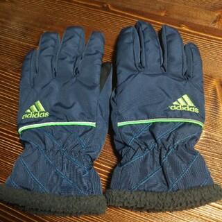 アディダス(adidas)の手袋☆AGE11-12(手袋)