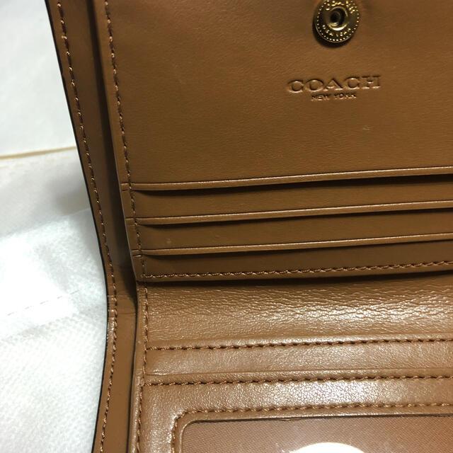 COACH(コーチ)のコーチ☆二つ折り財布 レディースのファッション小物(財布)の商品写真
