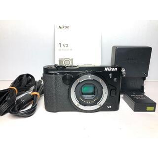 ニコン(Nikon)の僅か3170ショット ニコン 1 V3 ボディ(コンパクトデジタルカメラ)