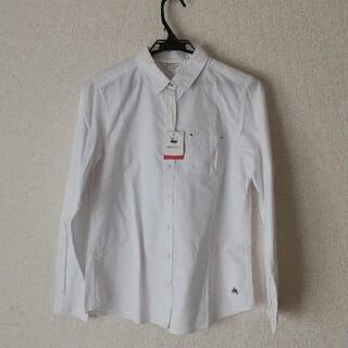 イオン(AEON)の【新品未使用】白 シャツ(シャツ/ブラウス(長袖/七分))
