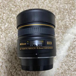 Nikon - AF DX Fisheye-Nikkor 10.5mm F2.8G ED