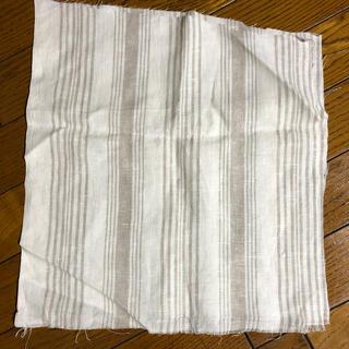 フォグリネンワーク(fog linen work)のリトアニアリネン ハギレ(生地/糸)