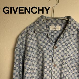 ジバンシィ(GIVENCHY)のGIVENCHY ジバンシィ オープンカラーシャツ ヴィンテージ  メンズ S(シャツ)