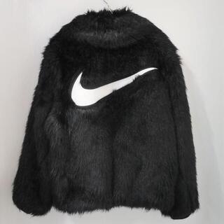 ナイキ(NIKE)の【Nike×AMBUSH】リバーシブル フェイクファー コート ジェイド(毛皮/ファーコート)