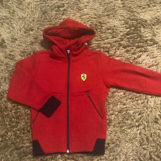 フェラーリ(Ferrari)のFerrari キッズ フルジップパーカー  【104cm】(ジャケット/上着)