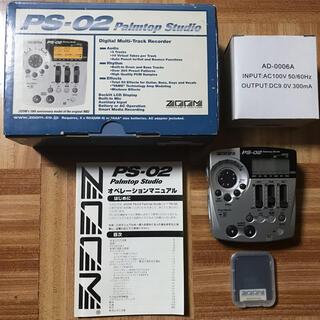 ズーム(Zoom)のZOOM PS-02 Palmtop Studio(MTR)