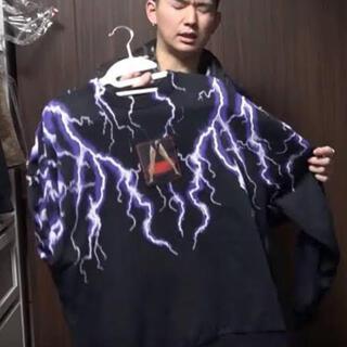 Alexander Wang - 廃盤アレキサンダーワンスウェット稲妻 COOGI GIVENCHY 論理 Y-3