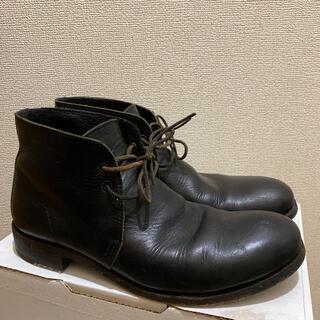 marchercher 本革ブーツ レザーブーツ 40 マーシェルシェ