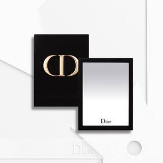 クリスチャンディオール(Christian Dior)のディオール ノベルティー/ ベロア / ロゴ ミラー(ミラー)