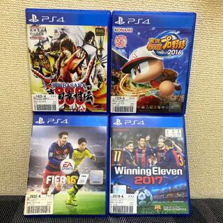 PlayStation4 - PS4 ゲーム4種 セット売り