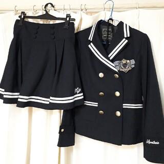 ラブトキシック(lovetoxic)のLovetoxic 卒服 ネイビー L(ドレス/フォーマル)