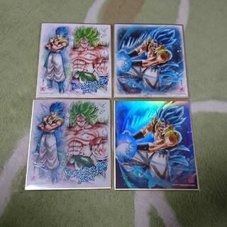 ドラゴンボール(ドラゴンボール)のドラゴンボール 色紙ART ゴジータ ブロリー(キャラクターグッズ)