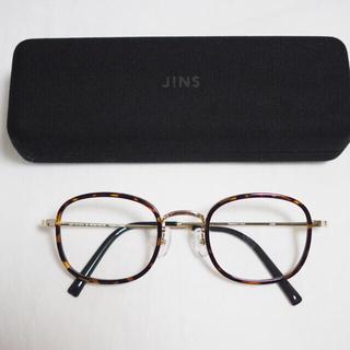 ジンズ(JINS)の美品 * JINS べっこう 眼鏡 メガネ 度なし(サングラス/メガネ)