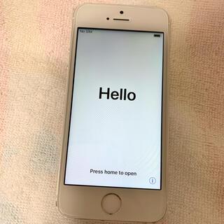 iPhone5s シルバー 32GB(スマートフォン本体)