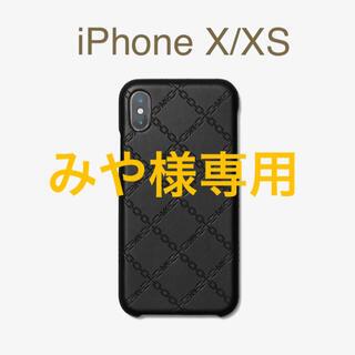 マイケルコース(Michael Kors)の箱付き新品★定価12,100円 MICHAEL KORS iPhone X-XS(iPhoneケース)